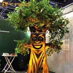 animatronics talking tree