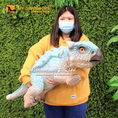 ankylosaur hand puppet 3