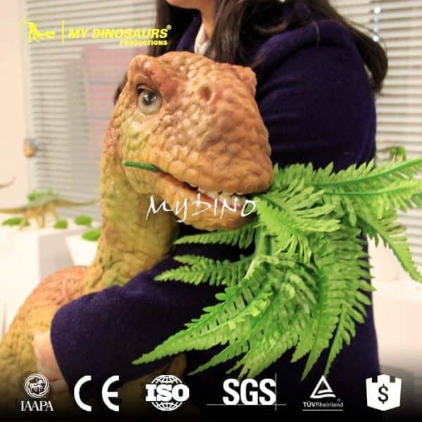 dinosaur rubber hand puppet