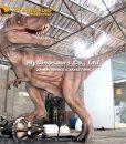 fighting dinosaurs animatronic