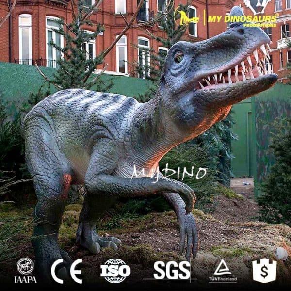 life size dinosaur Ornitholestes