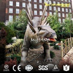Moving Dinosaur Stegosaurus