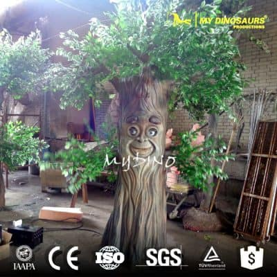 playground equipments artificial tree