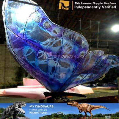 Garden Giant Size Insects Artificial Butterfly Decoration