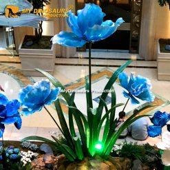Fiberglass Flower Statue