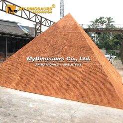 Miniature Pyramid Statue