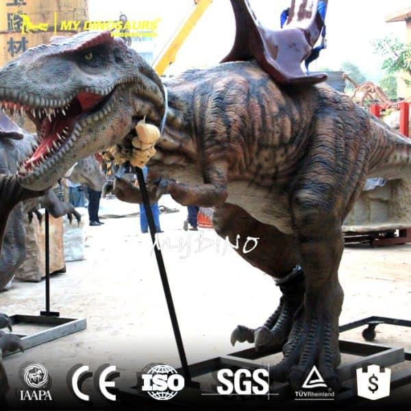 cartoon dinosaur ride