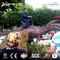customized dinosaur ride