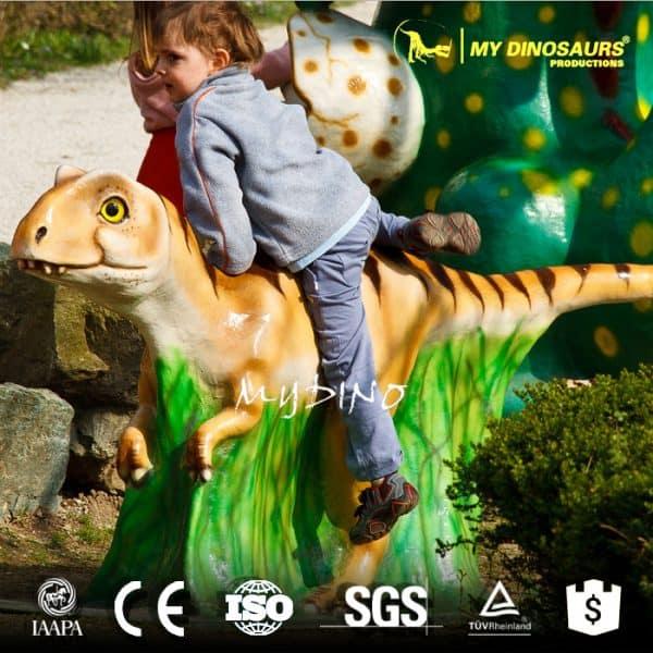 dinosaur rides sculpture