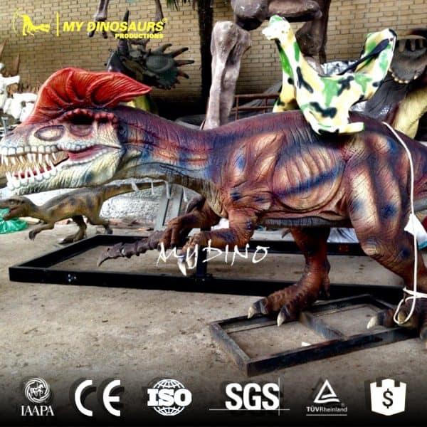 electric animated dinosaur ride