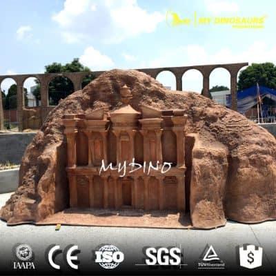 polyresin building