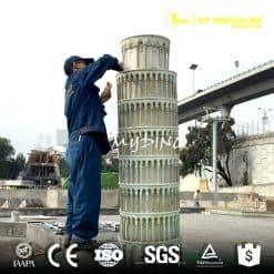 Custom Made Miniature City Sculpture Simulation Landmark Building Replica