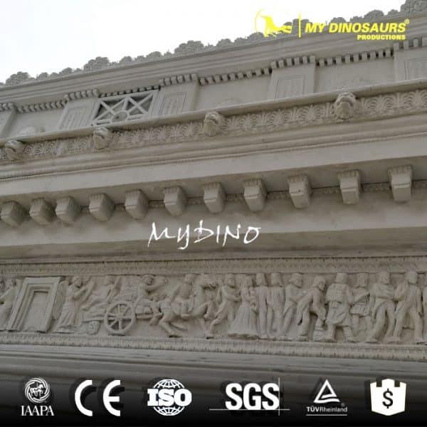 Waterproof Resin Miniature Arch of Triumph