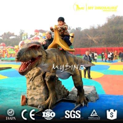 park dinosaur ride