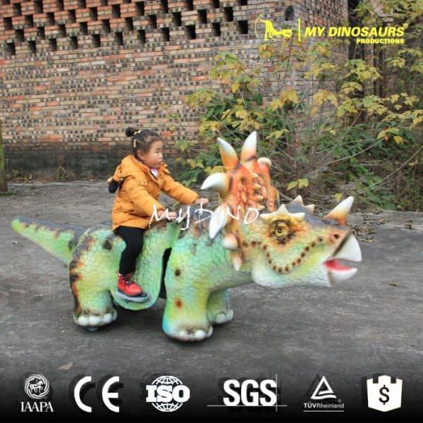 ride dinosaur car