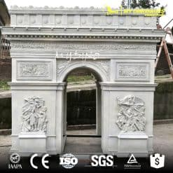 China Manufacture Supply Miniature Building Resin Sculpture