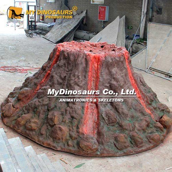 volcano statue 1