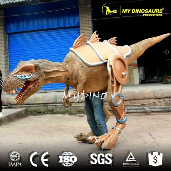 Dinosaur costume walk 3