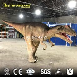 realistic dinosaur costume shopping mall