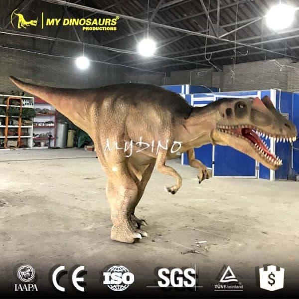 realistic dinosaur costume shopping mall