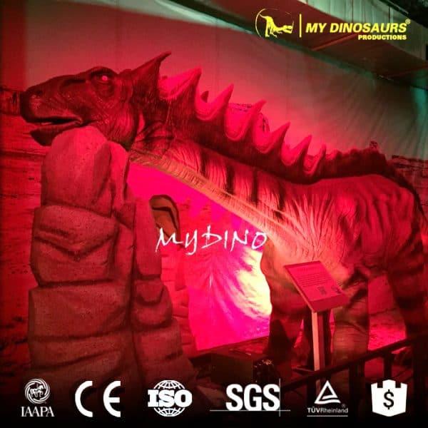 Amargasaurus model