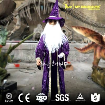 Animatronic Magician for Sale