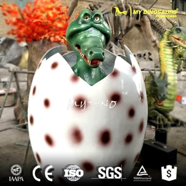 Cartoon dragon eggs