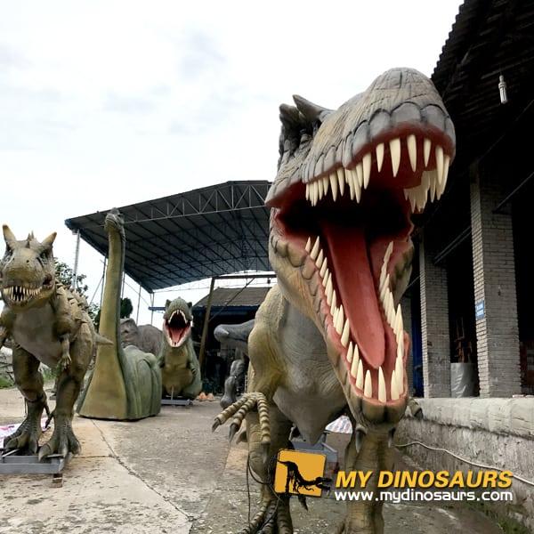 animatronid dinosaur UK