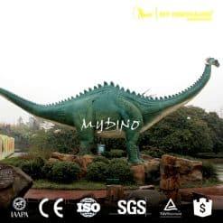 amusement life size fiberglass dinosaur 1