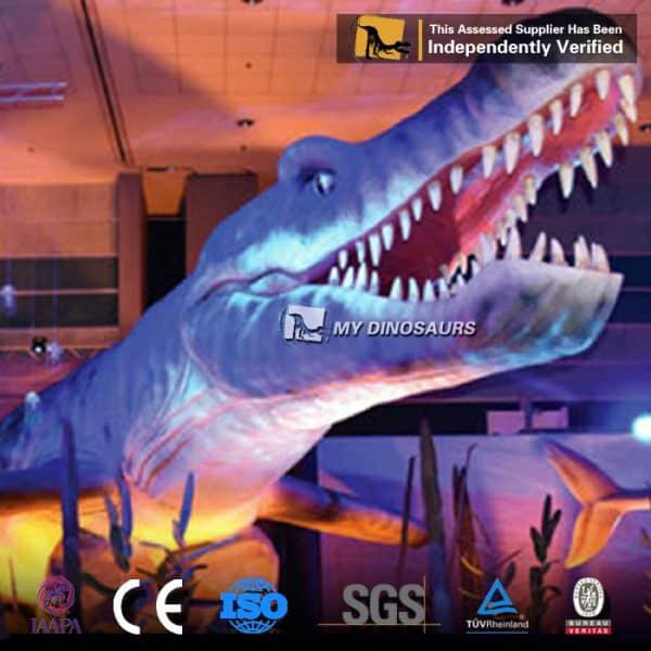 animatronic pliosaur
