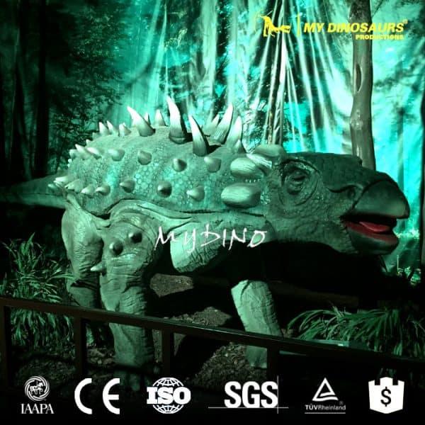 ankylosaur model
