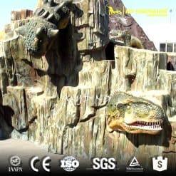 dinosaur head wall 1