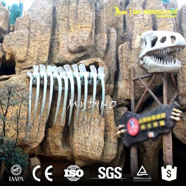 dinosaur park gate decoration 1