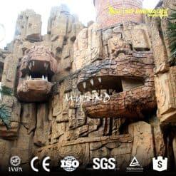 dinosaur park gate decoration 3