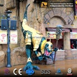 dinosaur park statue