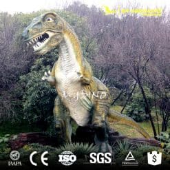 equipment fiberglass dinosaur