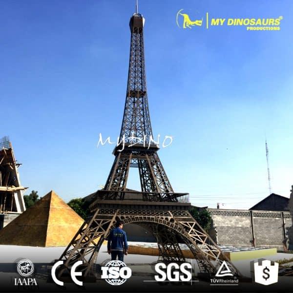 miniature building Eiffel Tower