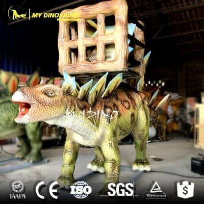 robotic dinosaur rides