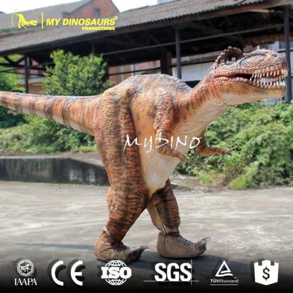 BBC Dinosaur costume prop