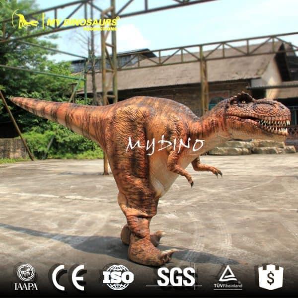 Dinosaur Costume Invisible Leg