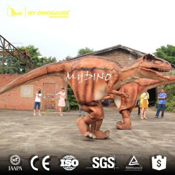 Dinosaur Costume of Spinosaurus Hide Legs