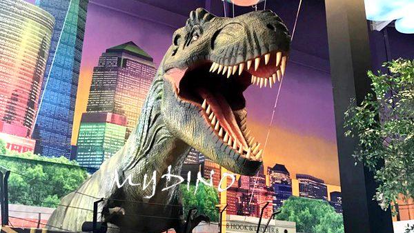 animatronic dinosaur usage exhibition