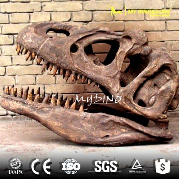 artificial dinosaur skull sale