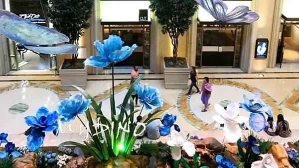 custom made fiberglass giant flower sculpture 拷贝