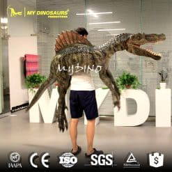 Spinosaurus dino puppet 2