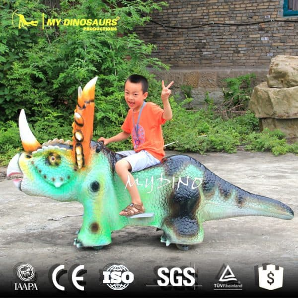 Battery Dinosaur Car 2