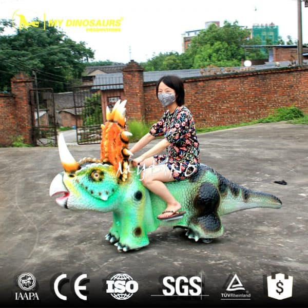 Battery Dinosaur Car