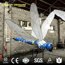 Dragonfly statue
