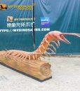 animatronic scolopendra