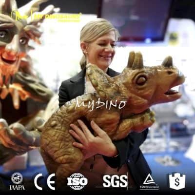 baby dinosaur puppet 3
